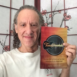 Scott Henderson with his copy of Tone Wizards